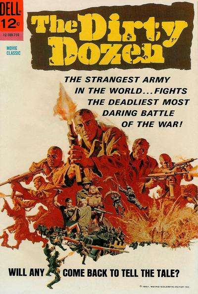 Dirty Dozen comic books