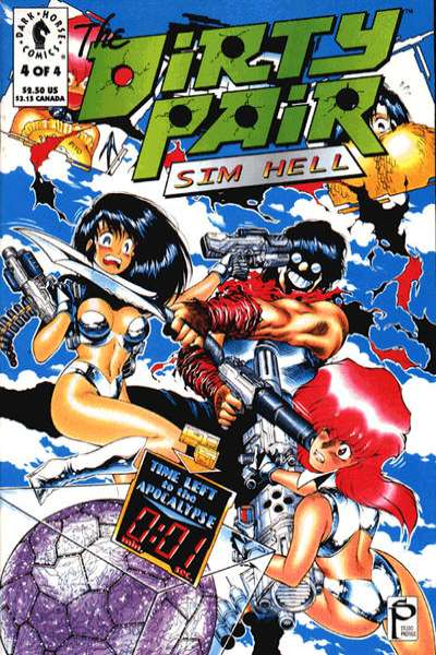 Dirty Pair: Sim Hell #4 comic books for sale