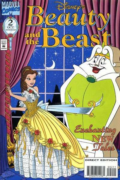 Disney's Beauty and the Beast #2 Comic Books - Covers, Scans, Photos  in Disney's Beauty and the Beast Comic Books - Covers, Scans, Gallery