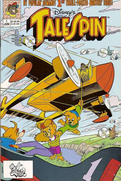 Disney's Talespin comic books