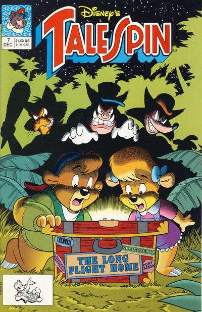 Disney's Talespin #7 Comic Books - Covers, Scans, Photos  in Disney's Talespin Comic Books - Covers, Scans, Gallery