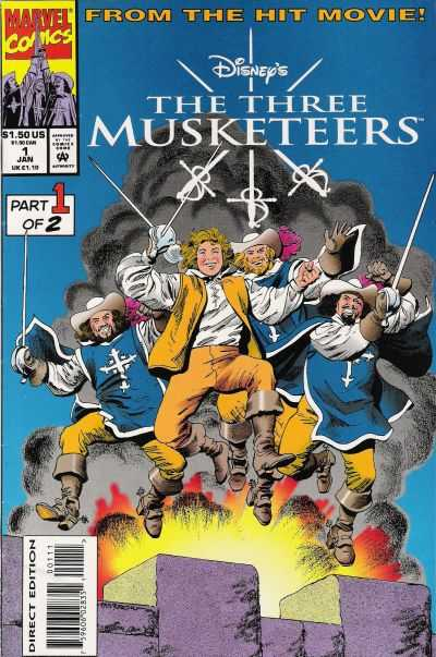 Disney's The Three Musketeers comic books