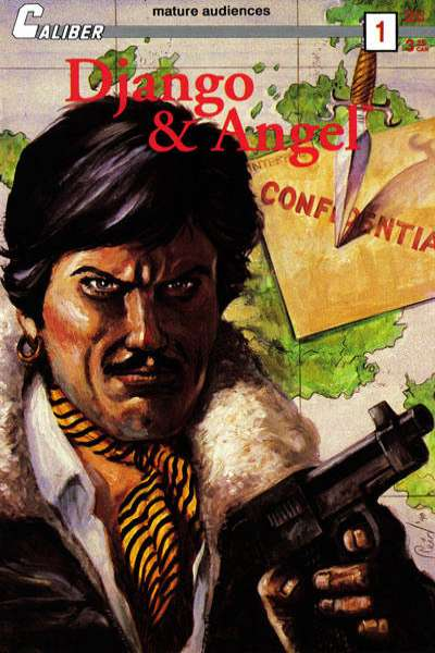 Django and Angel comic books