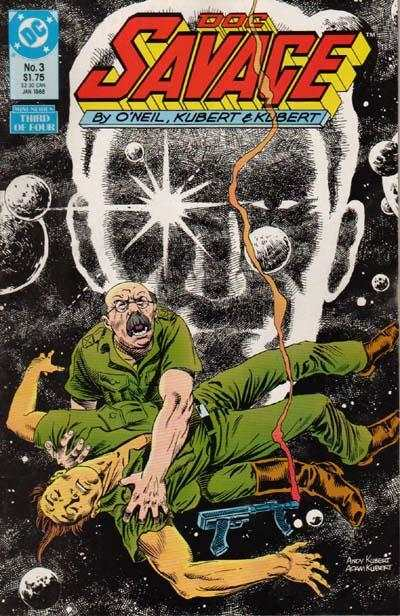 Doc Savage #3 comic books for sale