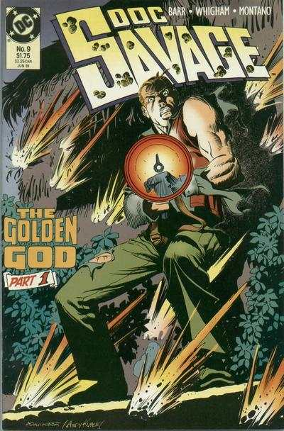 Doc Savage #9 comic books - cover scans photos Doc Savage #9 comic books - covers, picture gallery