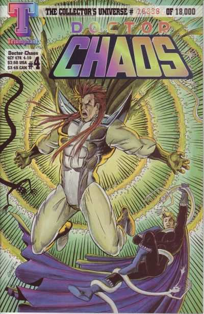 Doctor Chaos #4 Comic Books - Covers, Scans, Photos  in Doctor Chaos Comic Books - Covers, Scans, Gallery