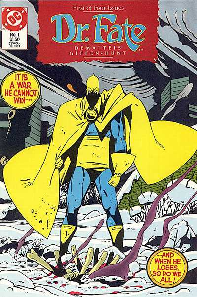 Doctor Fate #1 Comic Books - Covers, Scans, Photos  in Doctor Fate Comic Books - Covers, Scans, Gallery