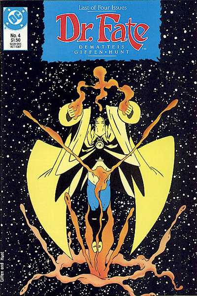 Doctor Fate #4 Comic Books - Covers, Scans, Photos  in Doctor Fate Comic Books - Covers, Scans, Gallery