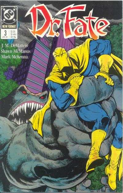 Doctor Fate #3 comic books for sale