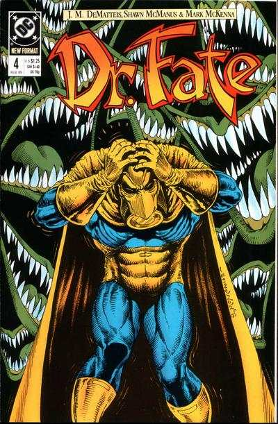 Doctor Fate #4 comic books - cover scans photos Doctor Fate #4 comic books - covers, picture gallery