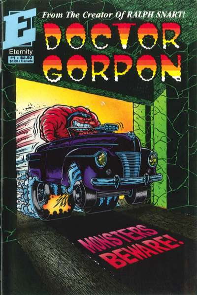 Doctor Gorpon #1 Comic Books - Covers, Scans, Photos  in Doctor Gorpon Comic Books - Covers, Scans, Gallery