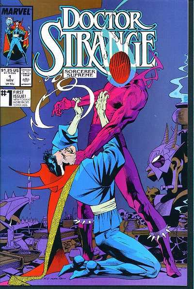 Doctor Strange: Sorcerer Supreme #1 comic books - cover scans photos Doctor Strange: Sorcerer Supreme #1 comic books - covers, picture gallery