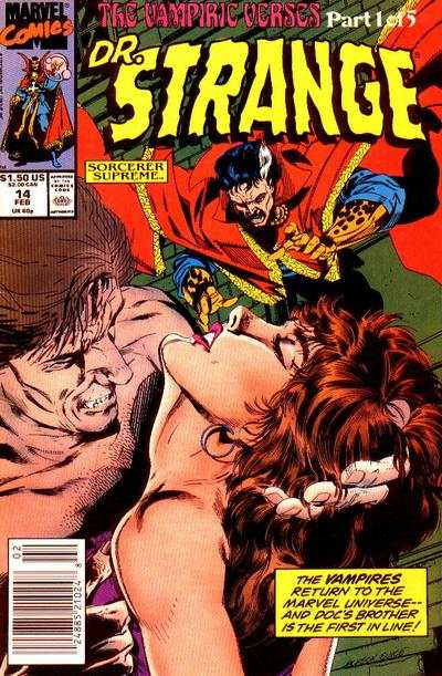 Doctor Strange: Sorcerer Supreme #14 Comic Books - Covers, Scans, Photos  in Doctor Strange: Sorcerer Supreme Comic Books - Covers, Scans, Gallery