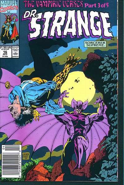 Doctor Strange: Sorcerer Supreme #16 comic books - cover scans photos Doctor Strange: Sorcerer Supreme #16 comic books - covers, picture gallery