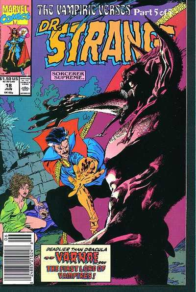 Doctor Strange: Sorcerer Supreme #18 comic books for sale