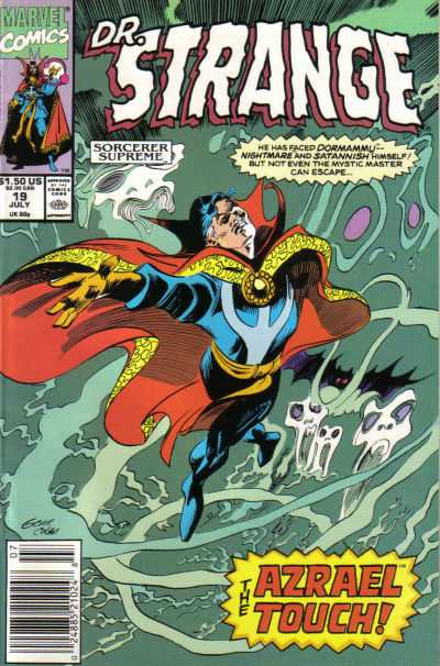 Doctor Strange: Sorcerer Supreme #19 comic books - cover scans photos Doctor Strange: Sorcerer Supreme #19 comic books - covers, picture gallery
