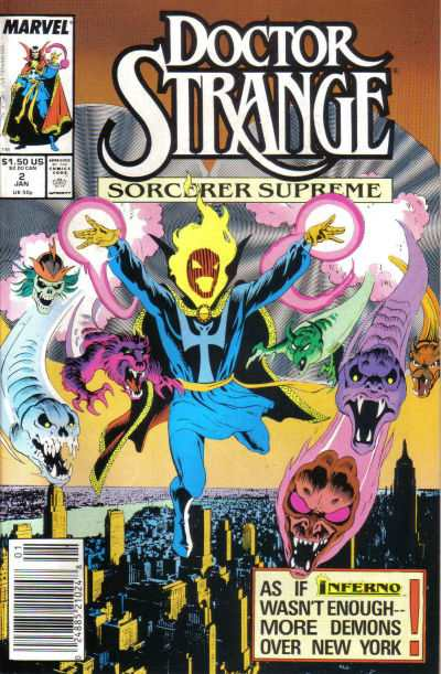 Doctor Strange: Sorcerer Supreme #2 comic books - cover scans photos Doctor Strange: Sorcerer Supreme #2 comic books - covers, picture gallery
