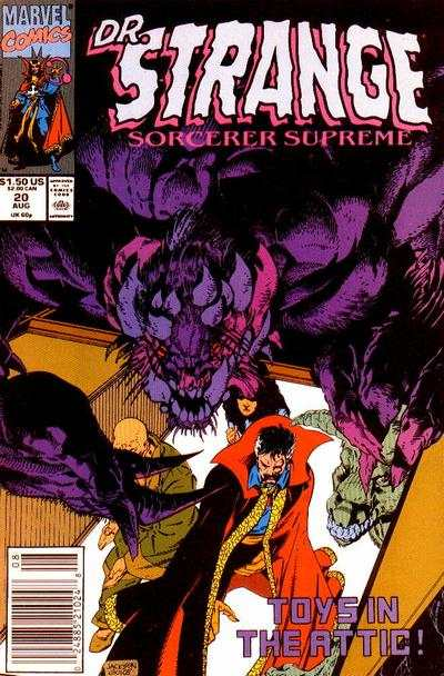 Doctor Strange: Sorcerer Supreme #20 comic books - cover scans photos Doctor Strange: Sorcerer Supreme #20 comic books - covers, picture gallery
