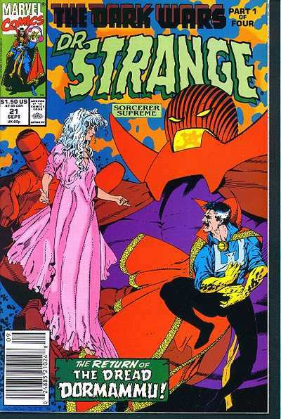 Doctor Strange: Sorcerer Supreme #21 comic books - cover scans photos Doctor Strange: Sorcerer Supreme #21 comic books - covers, picture gallery