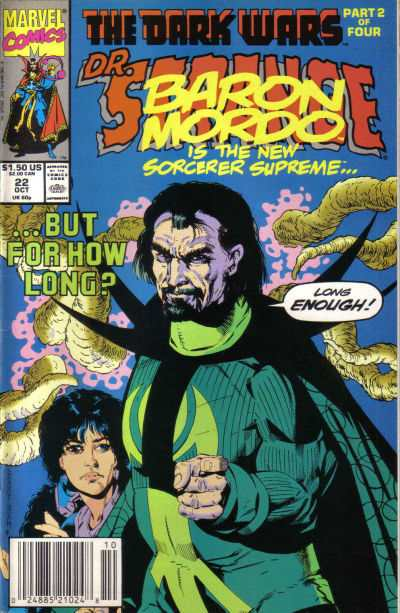 Doctor Strange: Sorcerer Supreme #22 Comic Books - Covers, Scans, Photos  in Doctor Strange: Sorcerer Supreme Comic Books - Covers, Scans, Gallery