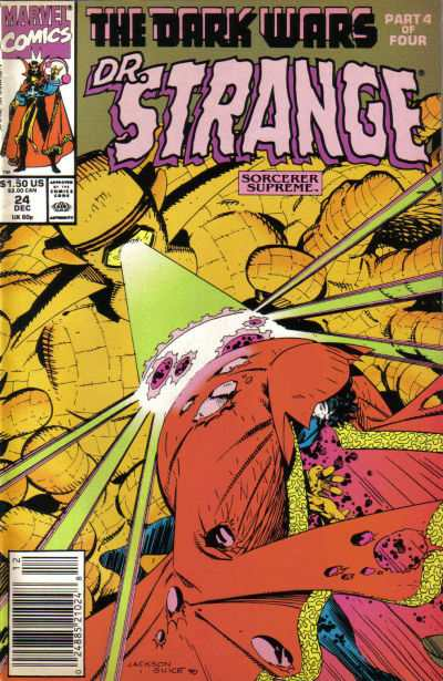 Doctor Strange: Sorcerer Supreme #24 comic books - cover scans photos Doctor Strange: Sorcerer Supreme #24 comic books - covers, picture gallery