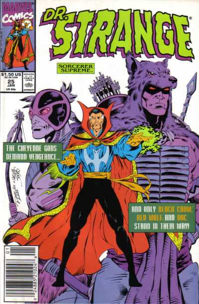 Doctor Strange: Sorcerer Supreme #25 comic books - cover scans photos Doctor Strange: Sorcerer Supreme #25 comic books - covers, picture gallery