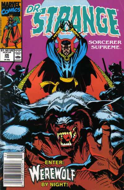 Doctor Strange: Sorcerer Supreme #26 comic books - cover scans photos Doctor Strange: Sorcerer Supreme #26 comic books - covers, picture gallery