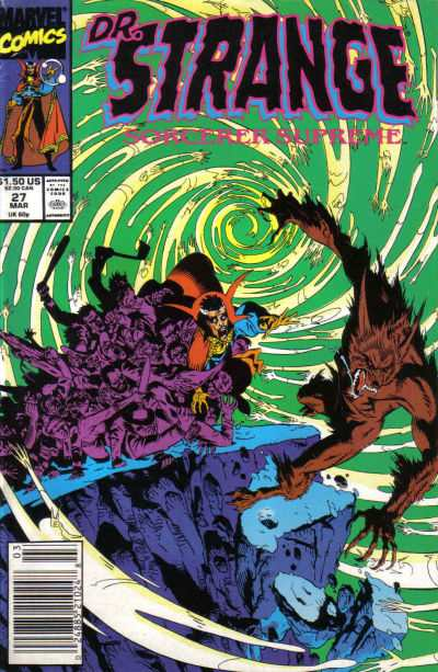 Doctor Strange: Sorcerer Supreme #27 comic books for sale