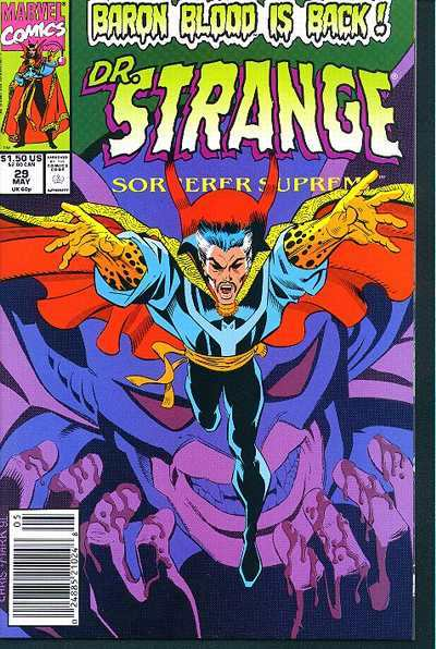 Doctor Strange: Sorcerer Supreme #29 comic books - cover scans photos Doctor Strange: Sorcerer Supreme #29 comic books - covers, picture gallery
