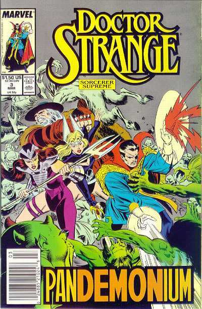Doctor Strange: Sorcerer Supreme #3 comic books - cover scans photos Doctor Strange: Sorcerer Supreme #3 comic books - covers, picture gallery