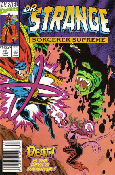 Doctor Strange: Sorcerer Supreme #30 comic books - cover scans photos Doctor Strange: Sorcerer Supreme #30 comic books - covers, picture gallery