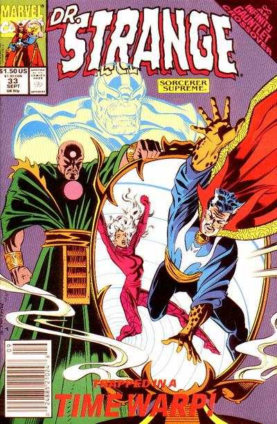 Doctor Strange: Sorcerer Supreme #33 comic books - cover scans photos Doctor Strange: Sorcerer Supreme #33 comic books - covers, picture gallery