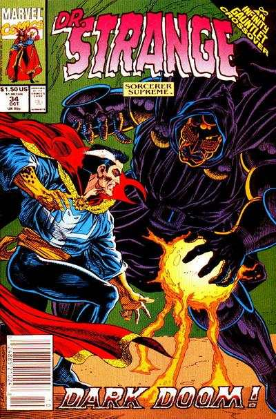 Doctor Strange: Sorcerer Supreme #34 comic books - cover scans photos Doctor Strange: Sorcerer Supreme #34 comic books - covers, picture gallery