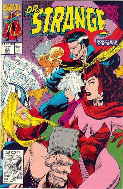 Doctor Strange: Sorcerer Supreme #35 comic books - cover scans photos Doctor Strange: Sorcerer Supreme #35 comic books - covers, picture gallery