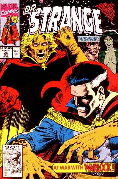 Doctor Strange: Sorcerer Supreme #36 comic books - cover scans photos Doctor Strange: Sorcerer Supreme #36 comic books - covers, picture gallery