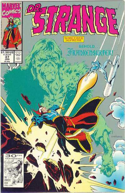 Doctor Strange: Sorcerer Supreme #37 comic books - cover scans photos Doctor Strange: Sorcerer Supreme #37 comic books - covers, picture gallery