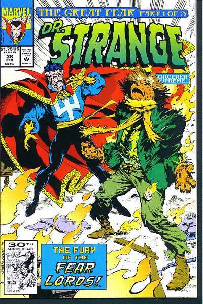 Doctor Strange: Sorcerer Supreme #38 comic books - cover scans photos Doctor Strange: Sorcerer Supreme #38 comic books - covers, picture gallery