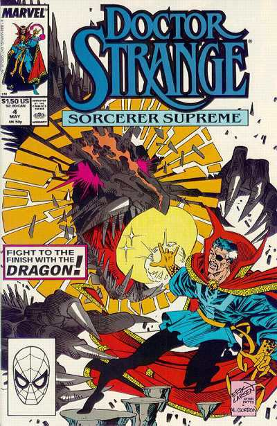 Doctor Strange: Sorcerer Supreme #4 comic books - cover scans photos Doctor Strange: Sorcerer Supreme #4 comic books - covers, picture gallery