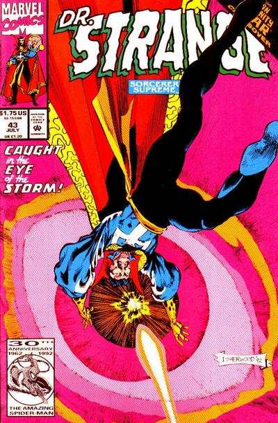 Doctor Strange: Sorcerer Supreme #43 comic books - cover scans photos Doctor Strange: Sorcerer Supreme #43 comic books - covers, picture gallery
