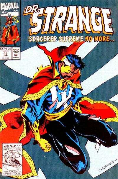 Doctor Strange: Sorcerer Supreme #49 comic books - cover scans photos Doctor Strange: Sorcerer Supreme #49 comic books - covers, picture gallery
