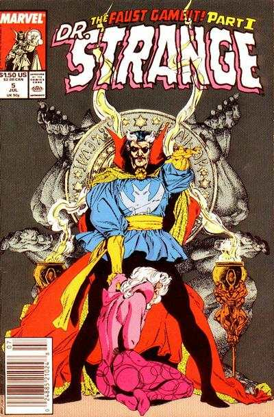 Doctor Strange: Sorcerer Supreme #5 comic books - cover scans photos Doctor Strange: Sorcerer Supreme #5 comic books - covers, picture gallery