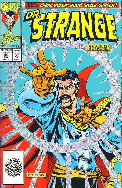 Doctor Strange: Sorcerer Supreme #50 comic books - cover scans photos Doctor Strange: Sorcerer Supreme #50 comic books - covers, picture gallery
