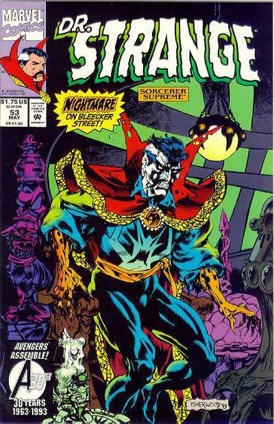 Doctor Strange: Sorcerer Supreme #53 comic books for sale