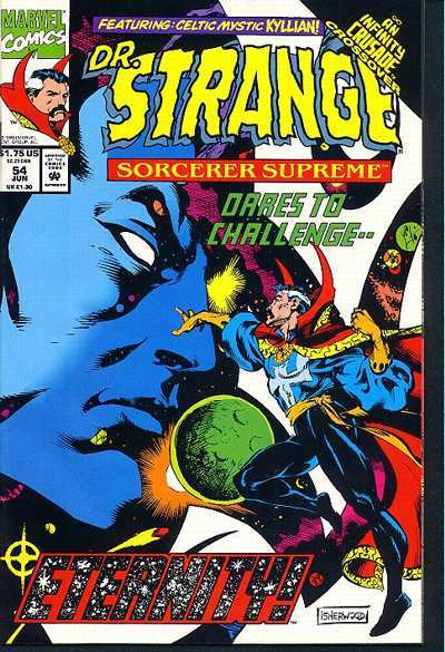 Doctor Strange: Sorcerer Supreme #54 comic books - cover scans photos Doctor Strange: Sorcerer Supreme #54 comic books - covers, picture gallery