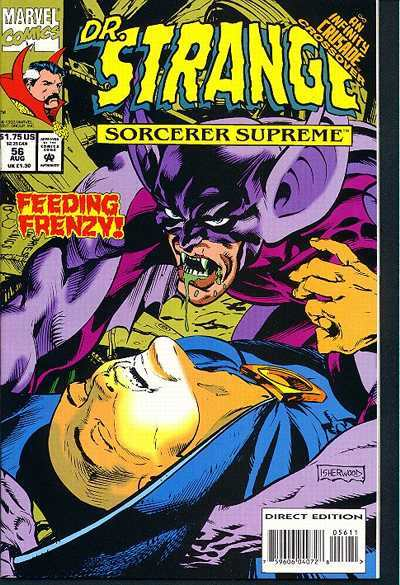 Doctor Strange: Sorcerer Supreme #56 comic books - cover scans photos Doctor Strange: Sorcerer Supreme #56 comic books - covers, picture gallery