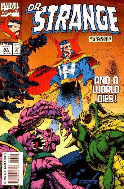 Doctor Strange: Sorcerer Supreme #57 comic books - cover scans photos Doctor Strange: Sorcerer Supreme #57 comic books - covers, picture gallery