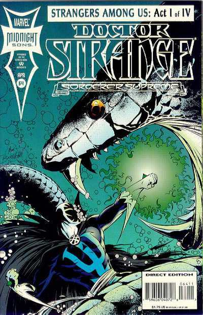 Doctor Strange: Sorcerer Supreme #64 comic books - cover scans photos Doctor Strange: Sorcerer Supreme #64 comic books - covers, picture gallery