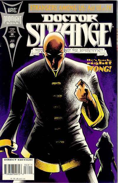 Doctor Strange: Sorcerer Supreme #66 comic books for sale