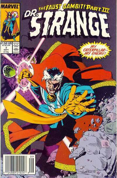 Doctor Strange: Sorcerer Supreme #7 comic books - cover scans photos Doctor Strange: Sorcerer Supreme #7 comic books - covers, picture gallery