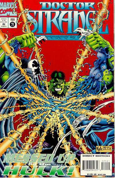 Doctor Strange: Sorcerer Supreme #71 comic books - cover scans photos Doctor Strange: Sorcerer Supreme #71 comic books - covers, picture gallery